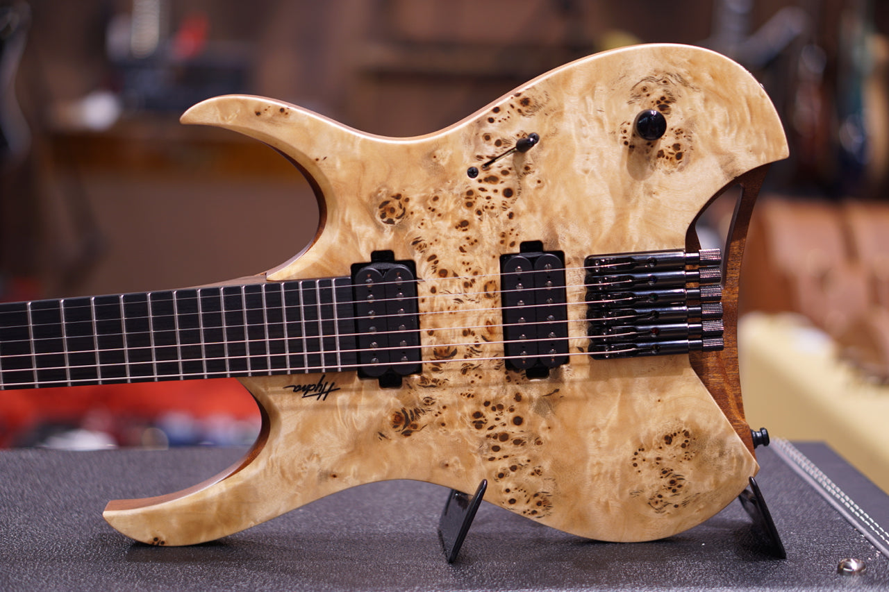 Mayones Hydra Elite Eye Poplar Natural - HIENDGUITAR   HIENDGUITAR.COM GUITAR