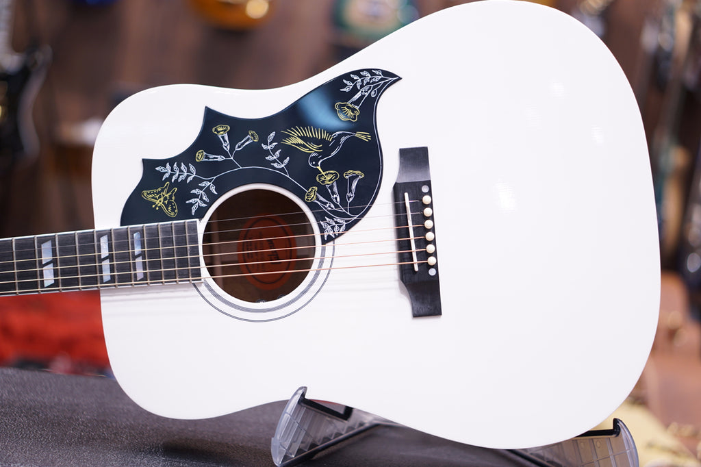 Gibson Acoustic Hummingbird 2018 - Alpine White