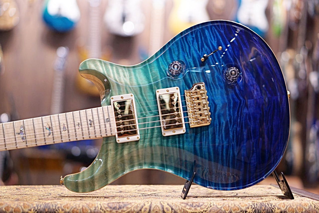 PRS Custom 24 Hiend spec #1 Blue fade Gold hardware