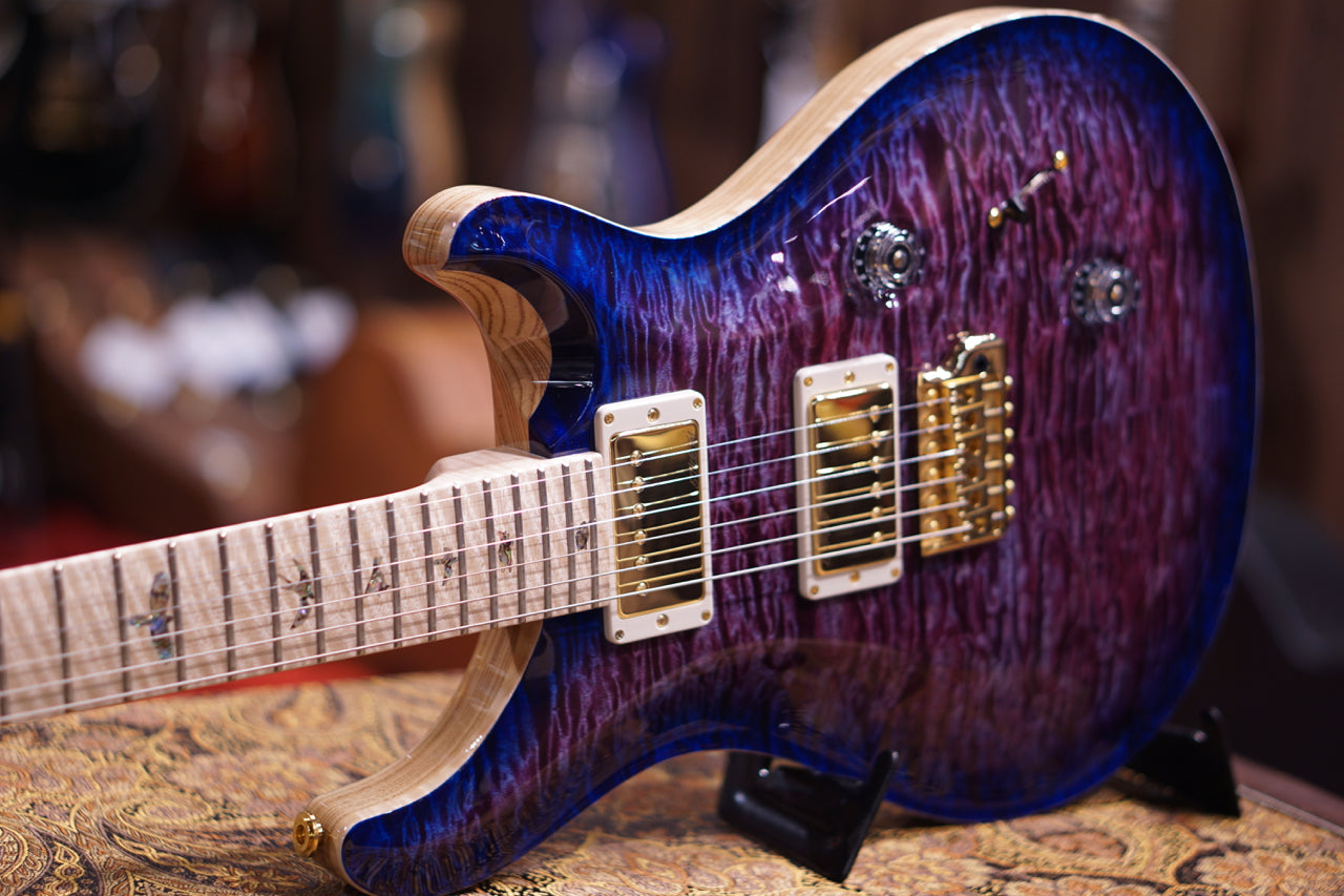 PRS Custom 24 Hiend spec #1 Violet blue burst