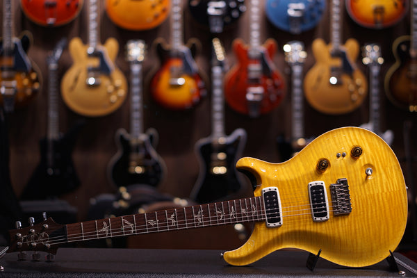 PRS PAUL'S GUITAR YELLOW SANTANA SN 215501