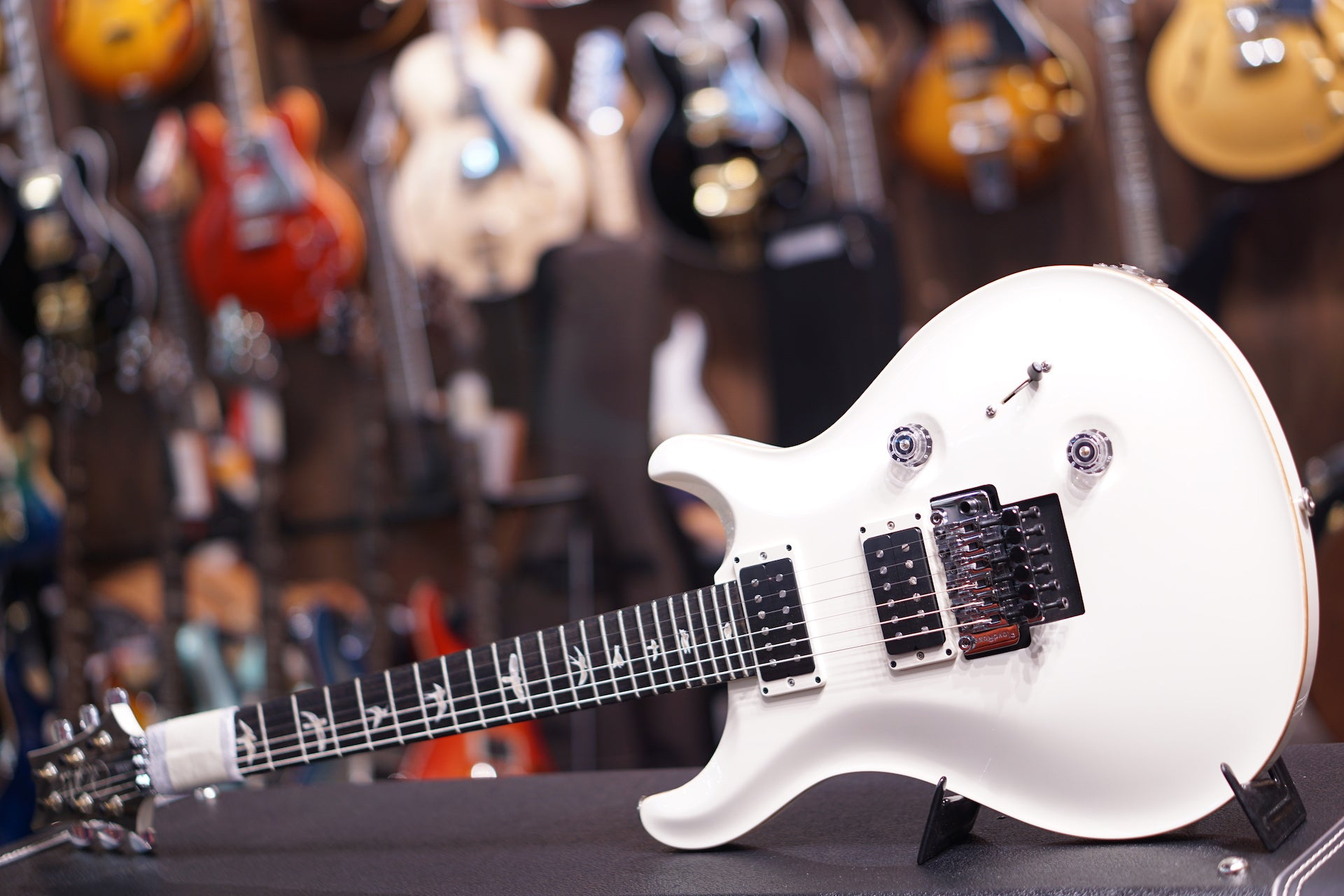 PRS Custom 24 Floyd ANTIQUE WHITE #215431 PRS - HIENDGUITAR.COM