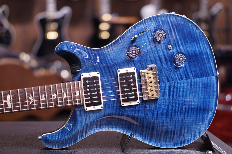 PRS Custom 24 piezo whale blue 10top 236748