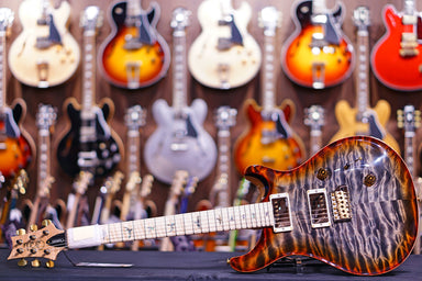 PRS Custom 24 wood library burnt maple leaf 19 0265946 PRS - HIENDGUITAR.COM