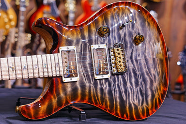 PRS Custom 24 wood library burnt maple leaf 19 0265946