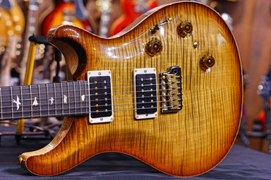 PRS Custom 24 piezo wood library Artist flame  burnt almond 19 0277323