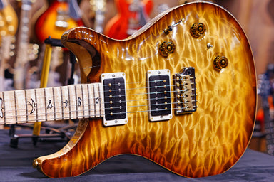 PRS Custom 24 piezo burnt almond wood library 19 0275222 PRS - HIENDGUITAR.COM