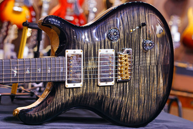 PRS Custom 24   wood library Charcoal 10top 19 0277478