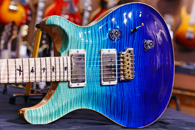 PRS Custom 24   blue fade 10top 0277925