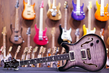 PRS SE Hollowbody II - Charcoal Burst