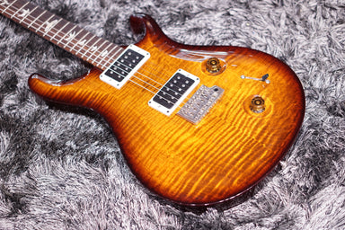 PRS CUSTOM 22 BLACK GOLD BURST fat neck sn 204261 - HIENDGUITAR.COM