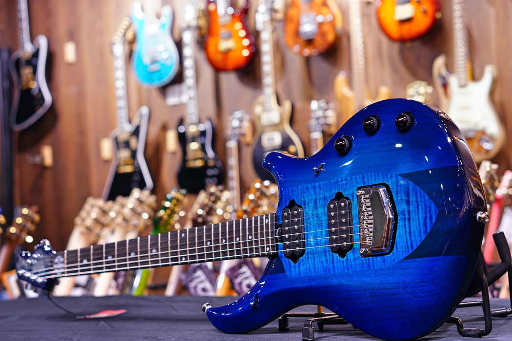 Ernie Ball Music Man John Petrucci Majesty - Blue Honu M12381