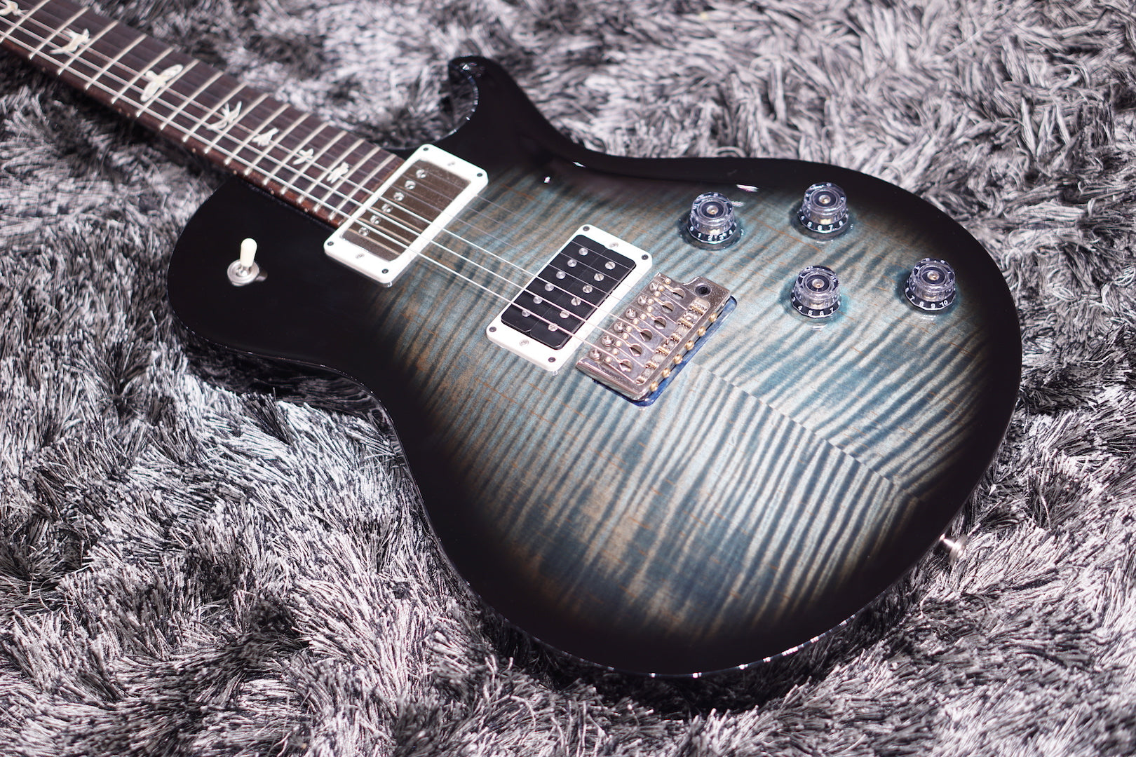 PRS TREMONTI THIN 212609 BLUE FLAME NO BINDING PRS - HIENDGUITAR.COM