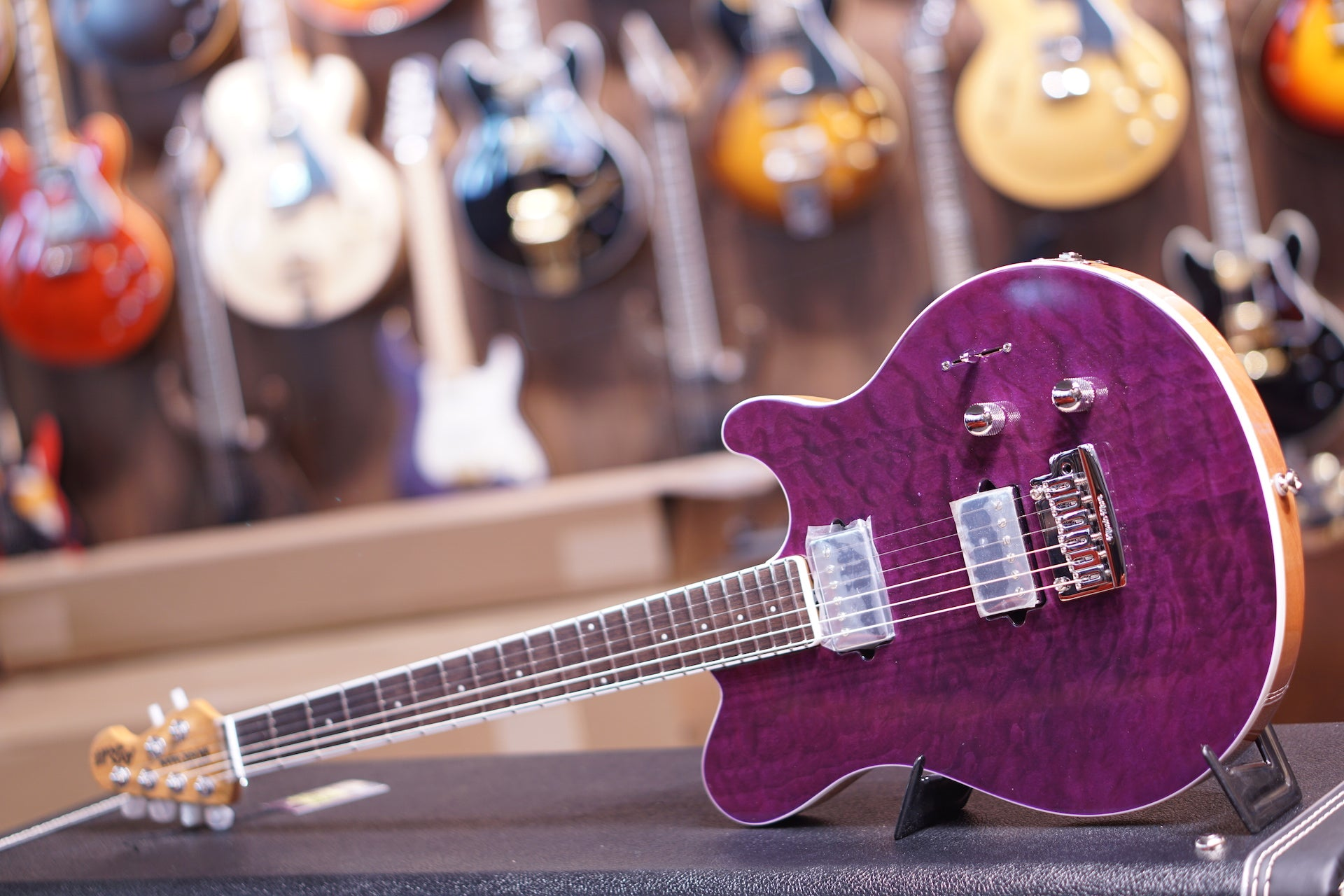Music Man Axis Super Sport Trans Light Purple Bfr HIENDGUITAR.COM - HIENDGUITAR.COM