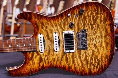 Anderson Drop Top * 08-21-19A * Light Tiger Eye Burst Anderson - HIENDGUITAR.COM