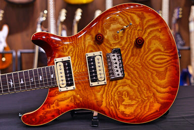 PRS SE Custom 24 Exotic Laurel Burl Limited Edition - Vintage Sunburst 2020 PRS - HIENDGUITAR.COM