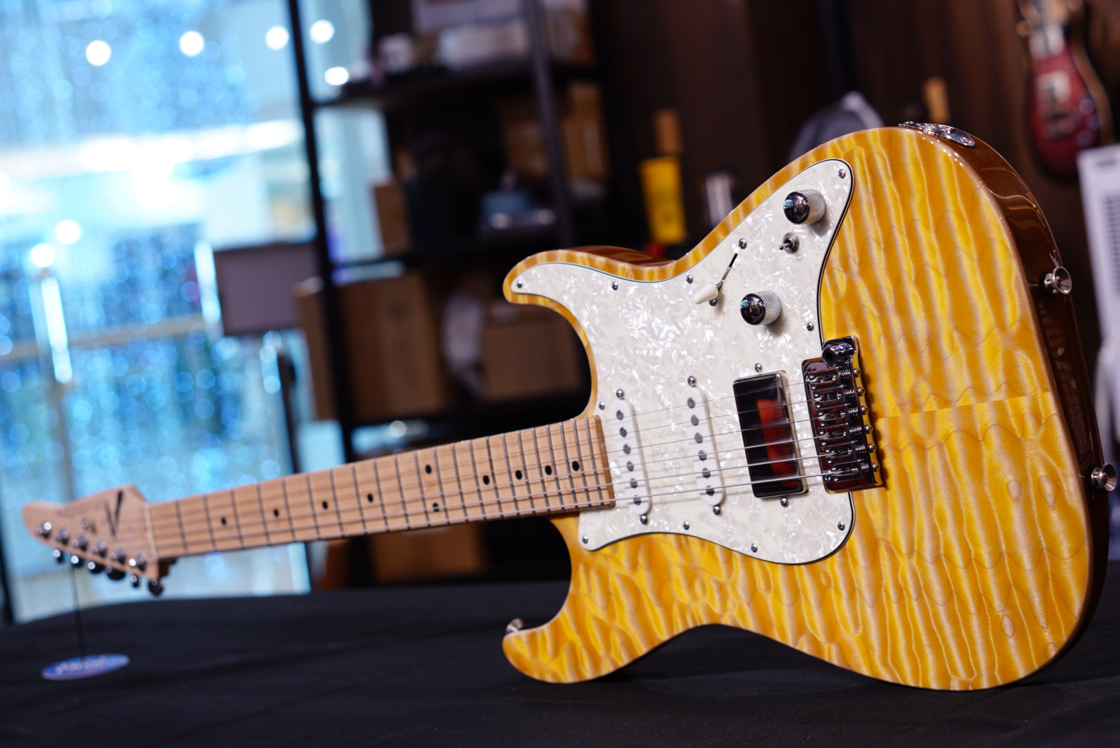 Anderson drop top classic natural yellow sun