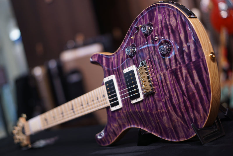 PRS Custom 24 piezo Faded purple jeans