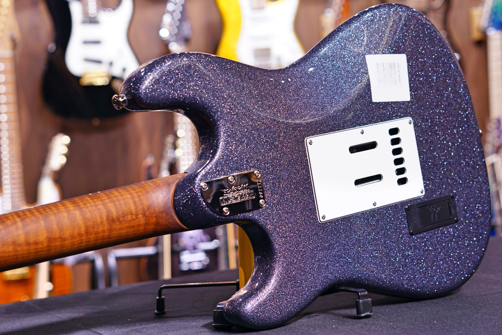 Ernie Ball Music Man Cutlass RS HSS - Charcoal Sparkle with Rosewood Fingerboard G97777