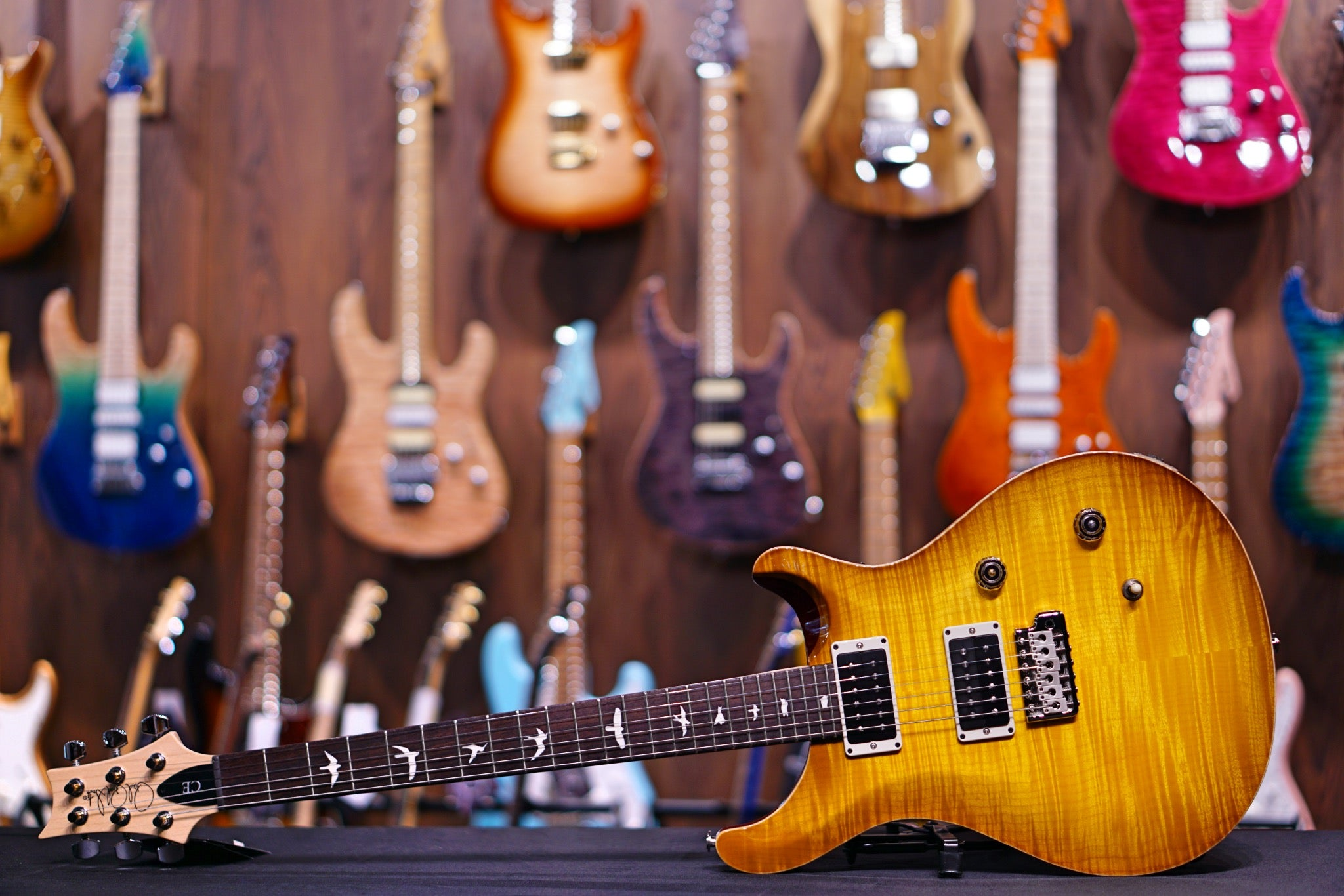 PRS CE24  McCarty Sunburst 20 0301372