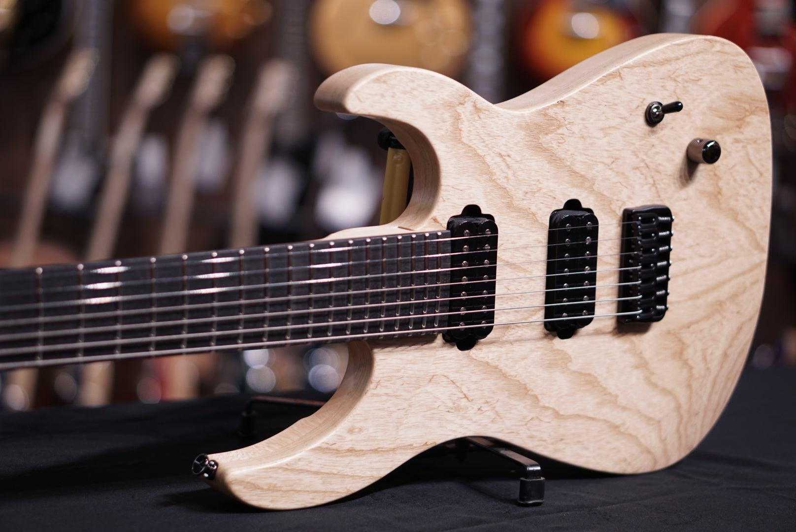 Caparison Dellinger 7 FX-AM  Matt Natural