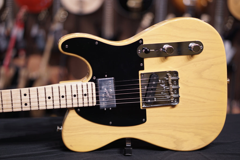 Fender 2018 Limited Edition American Professional HS Telecaster Guitar, Butterscotch Blonde, Maple Fretboard, Shawbucker Pickup