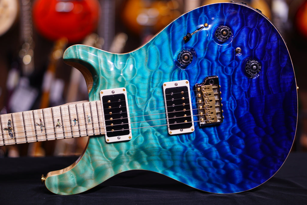 PRS Custom 22 piezo in blue fade 257202