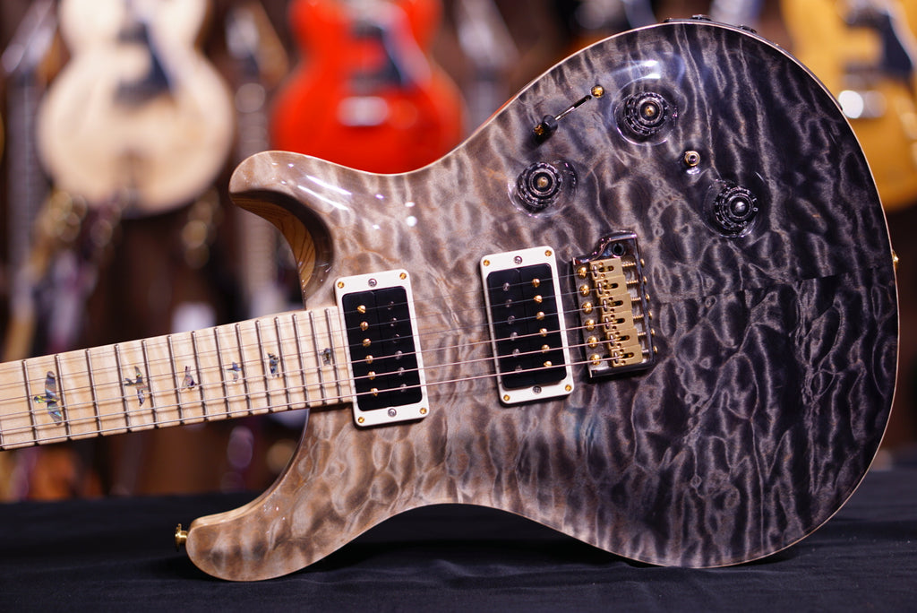 PRS Custom 24  piezo Gray Black fade Hiend Spec 257986
