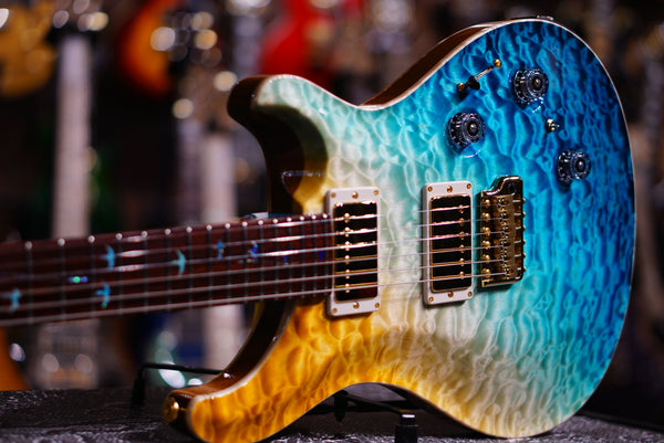 PRS beach cross fade Custom24 piezo