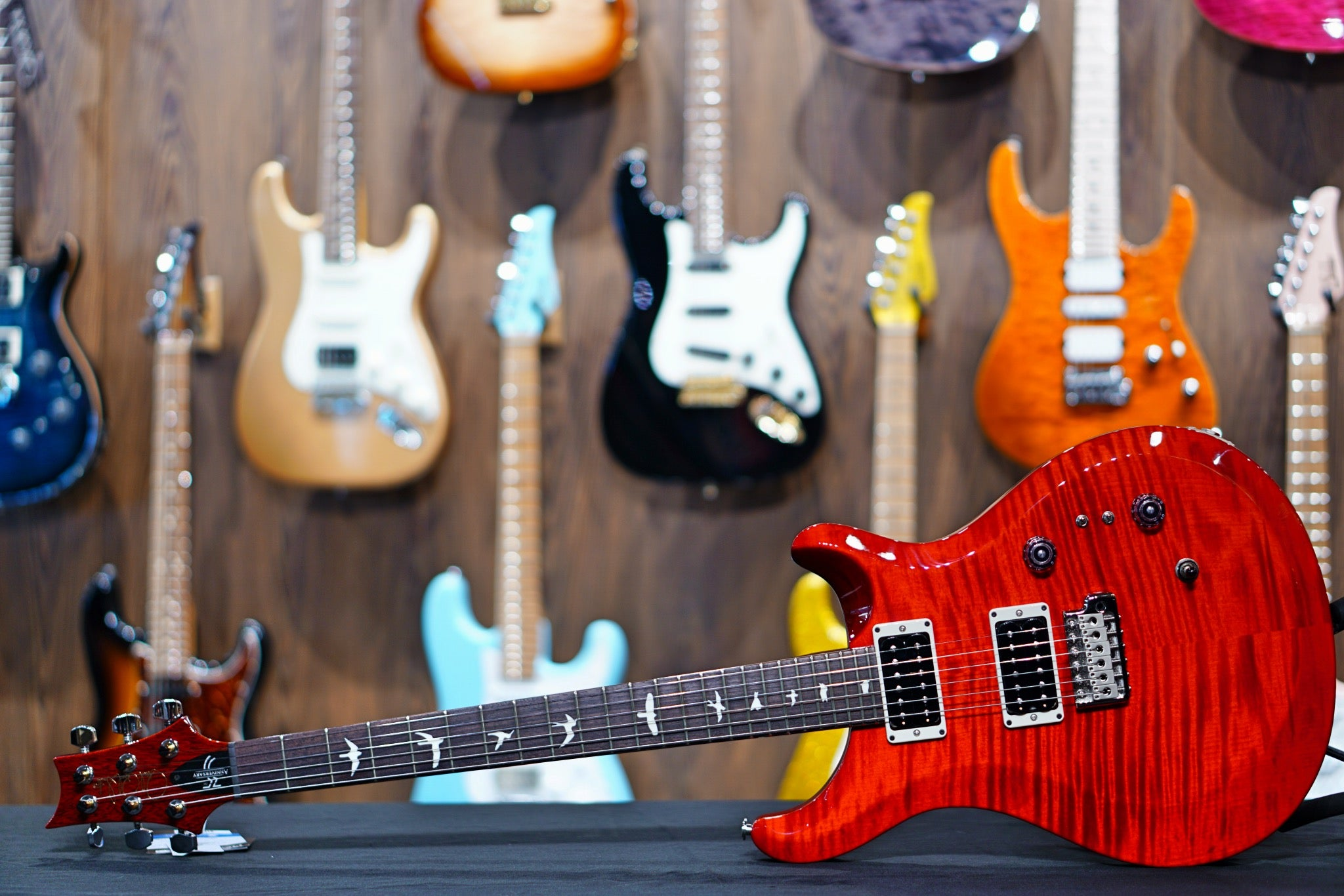 PRS 35th Anniversary S2 Custom 24 - Scarlet red