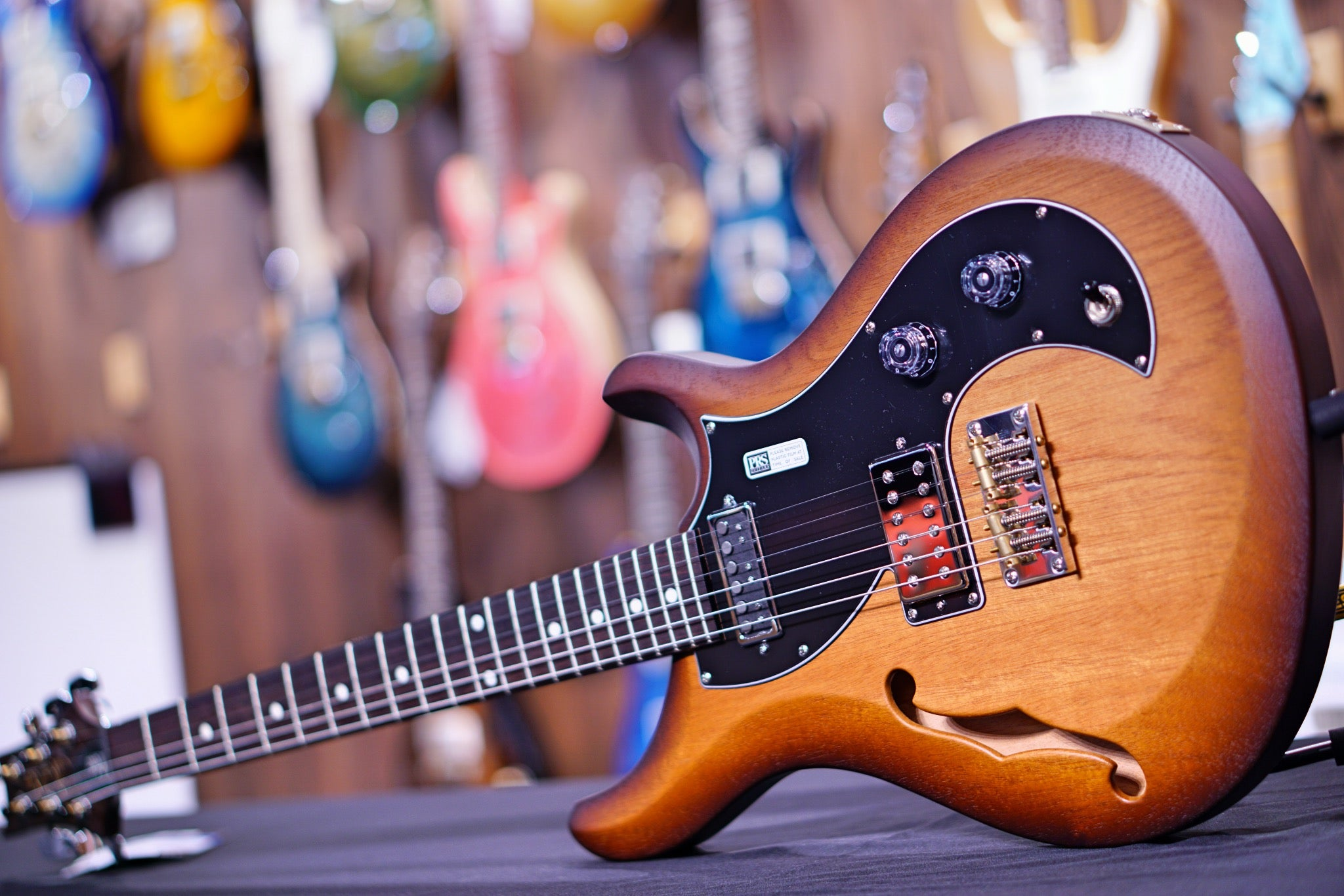 PRS Satin S2 Vela McCarty Tobacco Sunburst S2046437
