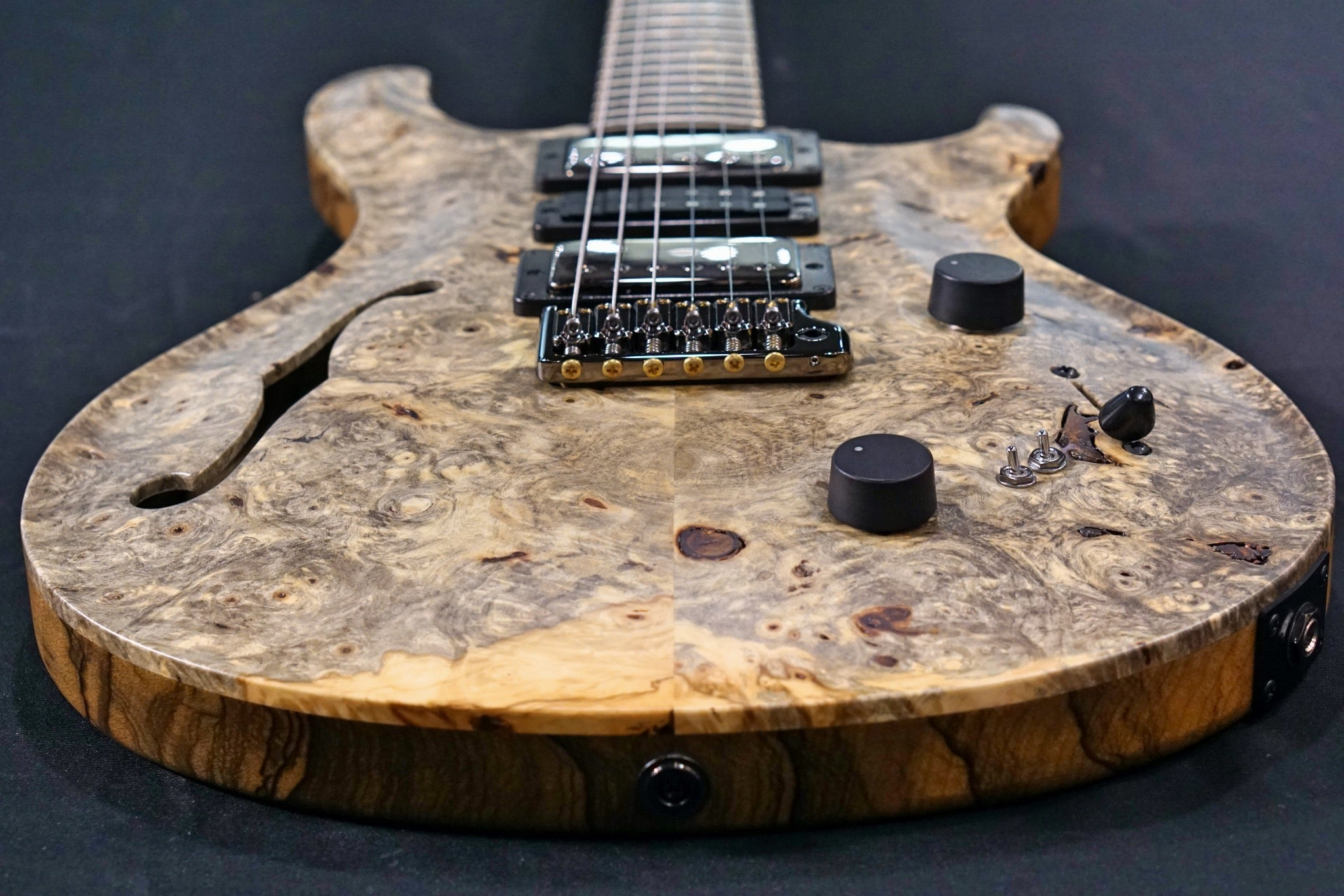 PRS Private stock Special semi hollow buckeye burl birds of a feather #8601