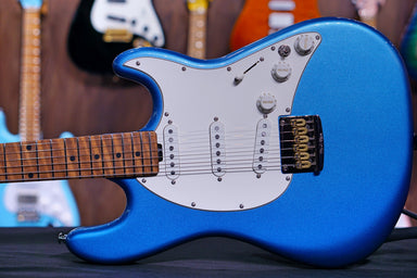 Ernie Ball Music Man Hunter Hayes Signature Cutlass - Tahoe Blue - HIENDGUITAR   Musicman GUITAR