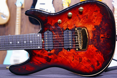 Ernie Ball Music man Cutlass HH Trem - 7 String - Jason Richardson - Rorschach Red - S03943 - HIENDGUITAR   Musicman GUITAR