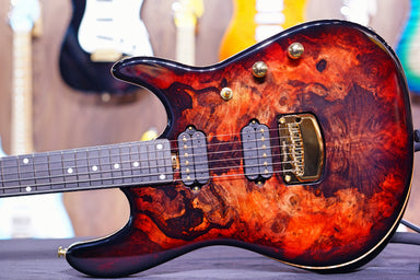 Ernie Ball Music man Cutlass HH Trem - 6 String - Jason Richardson - Rorschach Red S03934 - HIENDGUITAR   Musicman GUITAR