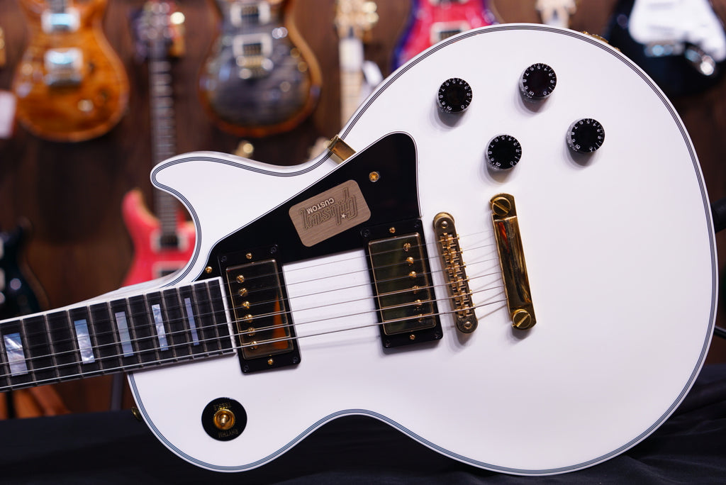 Gibson Les Paul Custom Alpine white 1237