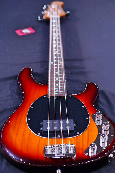 Ernie Ball Music Man StingRay Special 4 H Bass Guitar - Burnt Amber F91038 - HIENDGUITAR   Musicman bass