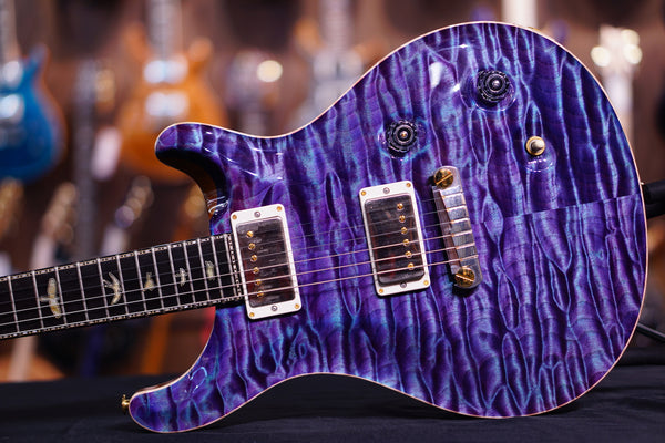 PRS Private Stock Violin II aqua violet quilt