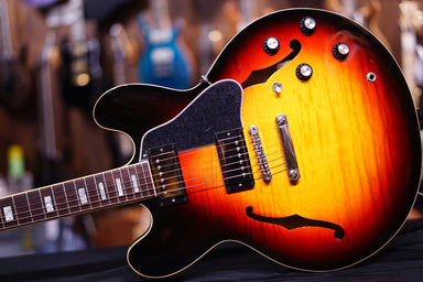 Gibson ES335 Figured 2018 - Antique Sunset Burst 709 - HIENDGUITAR.COM