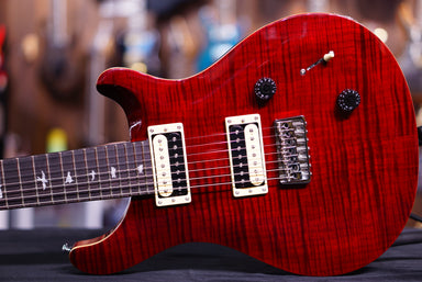 PRS SE SVN 7 String in Black Cherry PRS SE - HIENDGUITAR.COM