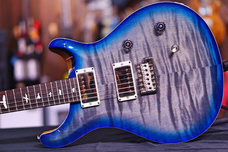 PRS CE24 Hiend Spec Charcoal Blue Burst 251424