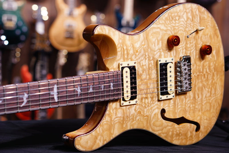 PRS SE Exotic Custom22 semi hollow  Swamp Ash quilt Limited run