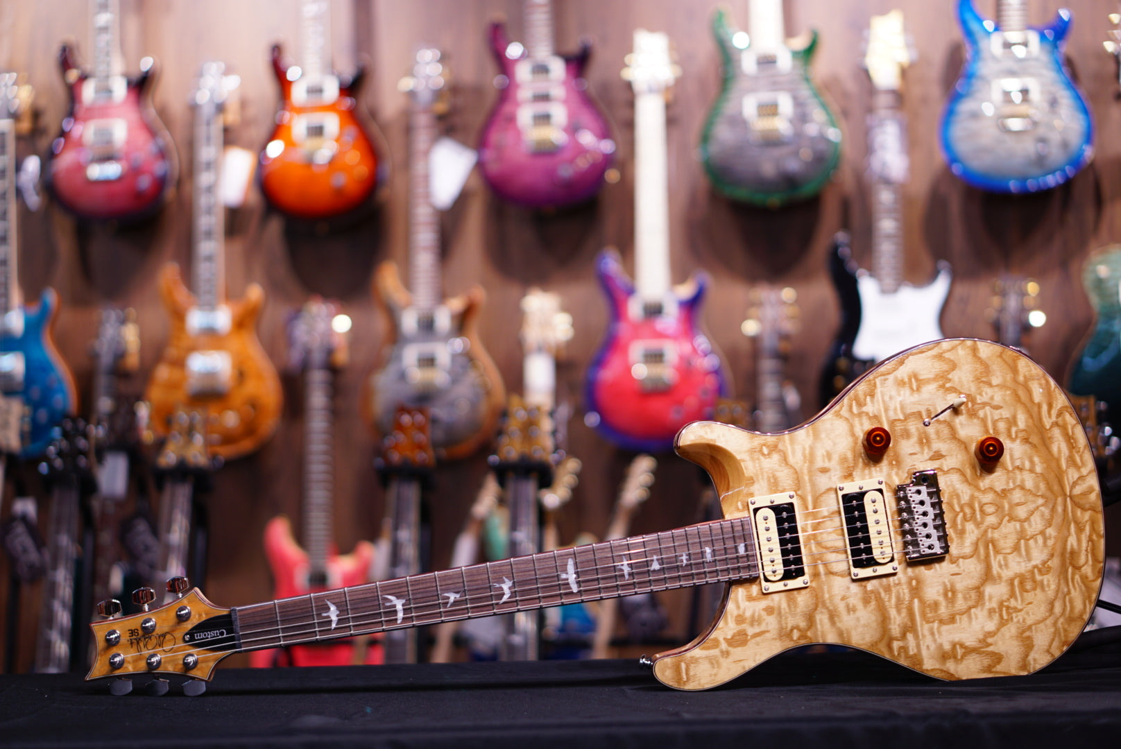 PRS SE exotic quilt swamp ash Custom24