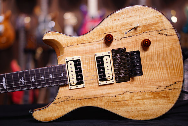 PRS SE exotic spalted Custom 24 floyd