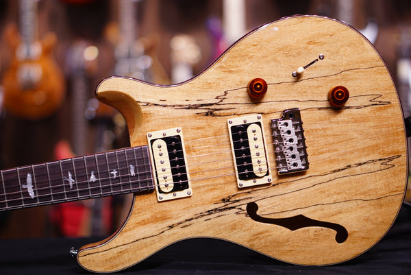 PRS SE Exotic spalted maple Custom 22 semi hollow