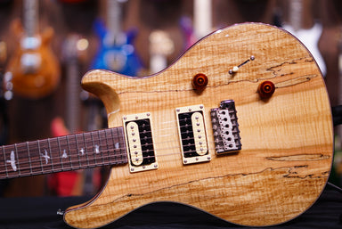 PRS SE exotic spalted maple Custom24 PRS SE - HIENDGUITAR.COM