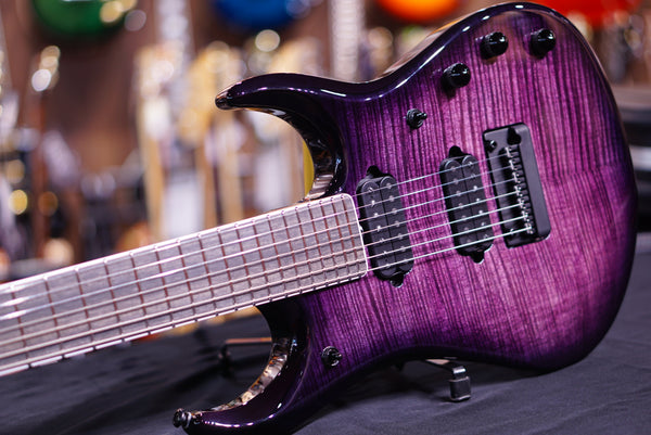 Music Man John Petrucci Jp15 Bfr 7-String - Eminence Purple