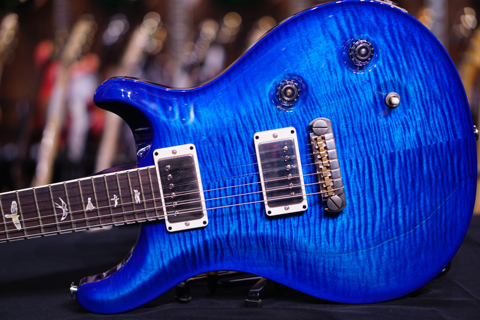 PRS Mccarty Faded blue burst 264003 PRS - HIENDGUITAR.COM