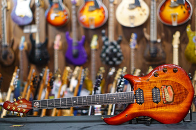 Ernie Ball Music Man JP Majesty Ball Family Reserve - Koa Burst - HIENDGUITAR.COM