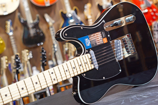 Fender American Elite Telecaster - Mystic Black w/ Maple Fingerboard